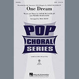 Download Mac Huff 'One Dream' Printable PDF 9-page score for Pop / arranged 2-Part Choir SKU: 290345.