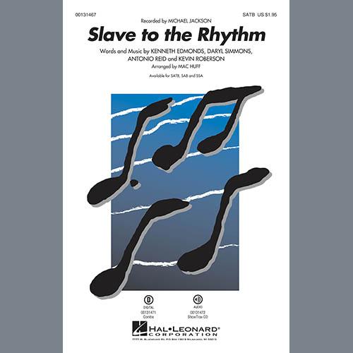 Mac Huff, Slave To The Rhythm - Bass, Choir Instrumental Pak