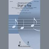 Download or print John Legend Start A Fire (from La La Land) (arr. Mac Huff) Sheet Music Printable PDF 11-page score for Jazz / arranged 2-Part Choir SKU: 183670.