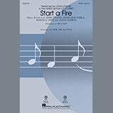 Download John Legend 'Start A Fire (from La La Land) (arr. Mac Huff)' Printable PDF 11-page score for Jazz / arranged 2-Part Choir SKU: 183670.