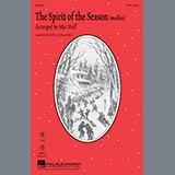 Download or print Mac Huff The Spirit Of The Season (Medley) - Synthesizer Sheet Music Printable PDF 3-page score for Christmas / arranged Choir Instrumental Pak SKU: 270186.