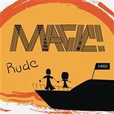 Download MAGIC! 'Rude (arr. Mark Brymer)' Printable PDF 5-page score for Pop / arranged SATB Choir SKU: 157263.