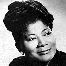Download or print Mahalia Jackson His Eye Is On The Sparrow Sheet Music Printable PDF 4-page score for Pop / arranged Piano Solo SKU: 71310.