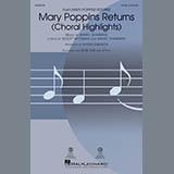Download Marc Shaiman & Scott Wittman 'Mary Poppins Returns (Choral Highlights) (arr. Roger Emerson) - Guitar' Printable PDF 7-page score for Disney / arranged Choir Instrumental Pak SKU: 410088.