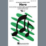 Download or print Mariah Carey Hero (arr. Mark Brymer) Sheet Music Printable PDF 6-page score for Pop / arranged 2-Part Choir SKU: 438852.
