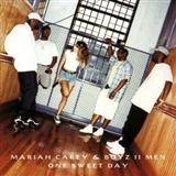 Download Mariah Carey and Boyz II Men 'One Sweet Day' Printable PDF 4-page score for Pop / arranged Easy Piano SKU: 68586.