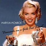 Download or print Marilyn Monroe Diamonds Are A Girl's Best Friend Sheet Music Printable PDF 2-page score for Pop / arranged Beginner Piano SKU: 24260.