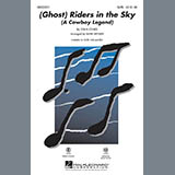 Download or print Mark Brymer (Ghost) Riders In The Sky (A Cowboy Legend) - Guitar Sheet Music Printable PDF 3-page score for Country / arranged Choir Instrumental Pak SKU: 281598.