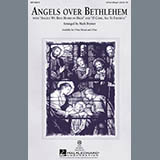 Download or print Mark Brymer Angels Over Bethlehem Sheet Music Printable PDF 7-page score for Concert / arranged 2-Part Choir SKU: 98000.