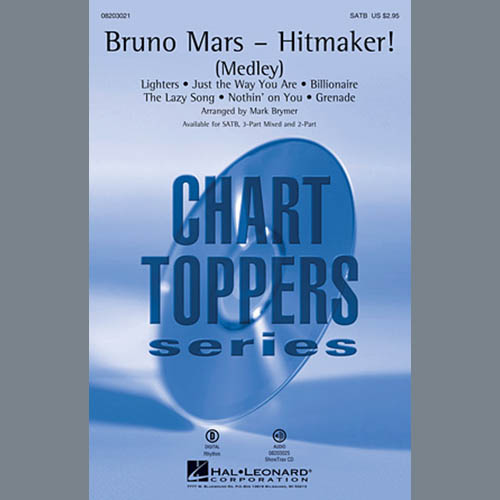 Easily Download Mark Brymer Printable PDF piano music notes, guitar tabs for SATB Choir. Transpose or transcribe this score in no time - Learn how to play song progression.