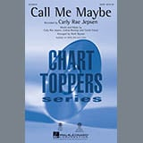 Download Mark Brymer 'Call Me Maybe - Synthesizer' Printable PDF 2-page score for Pop / arranged Choir Instrumental Pak SKU: 320067.