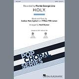 Download or print Mark Brymer H.O.L.Y. Sheet Music Printable PDF 7-page score for Pop / arranged TBB Choir SKU: 180335.