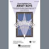 Download Mark Brymer 'Jersey Boys (Choral Highlights) - Bb Trumpet 1' Printable PDF 5-page score for Musical/Show / arranged Choir Instrumental Pak SKU: 267449.
