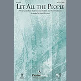 Download or print Mark Brymer Let All The People - Violin 1 Sheet Music Printable PDF 2-page score for Romantic / arranged Choir Instrumental Pak SKU: 311182.