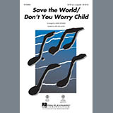 Download or print Mark Brymer Save the World/Don't You Worry Child - Drums Sheet Music Printable PDF 2-page score for Inspirational / arranged Choir Instrumental Pak SKU: 329996.