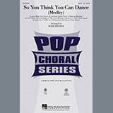 Download or print Mark Brymer So You Think You Can Dance (Medley) Sheet Music Printable PDF 8-page score for Pop / arranged 2-Part Choir SKU: 284741.