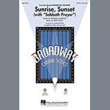 Download Mark Brymer 'Sunrise, Sunset (with Sabbath Prayer) - Bass' Printable PDF 2-page score for Wedding / arranged Choir Instrumental Pak SKU: 279197.
