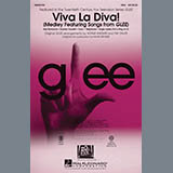 Download Mark Brymer 'Viva La Diva! (Medley featuring Songs from Glee) - Bass' Printable PDF 2-page score for Film/TV / arranged Choir Instrumental Pak SKU: 296851.