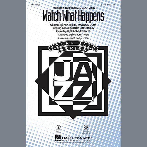 Mark Brymer, Watch What Happens - Drums, Choir Instrumental Pak