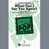 Download or print Mark Brymer When Can I See You Again? Sheet Music Printable PDF 2-page score for Concert / arranged 2-Part Choir SKU: 97143.