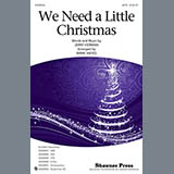 Download or print Mark Hayes We Need a Little Christmas - C Flute 1 Sheet Music Printable PDF 2-page score for Christmas / arranged Choir Instrumental Pak SKU: 320073.