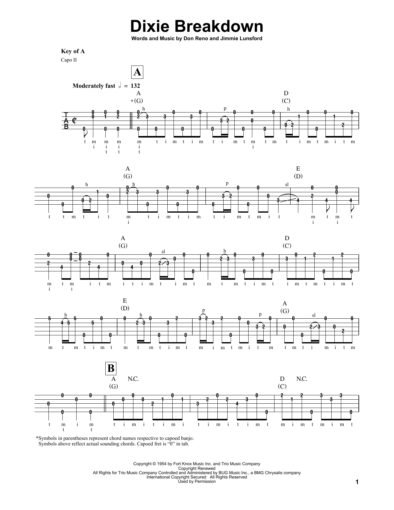 Mark O'Connor Dixie Breakdown sheet music notes and chords. Download Printable PDF.
