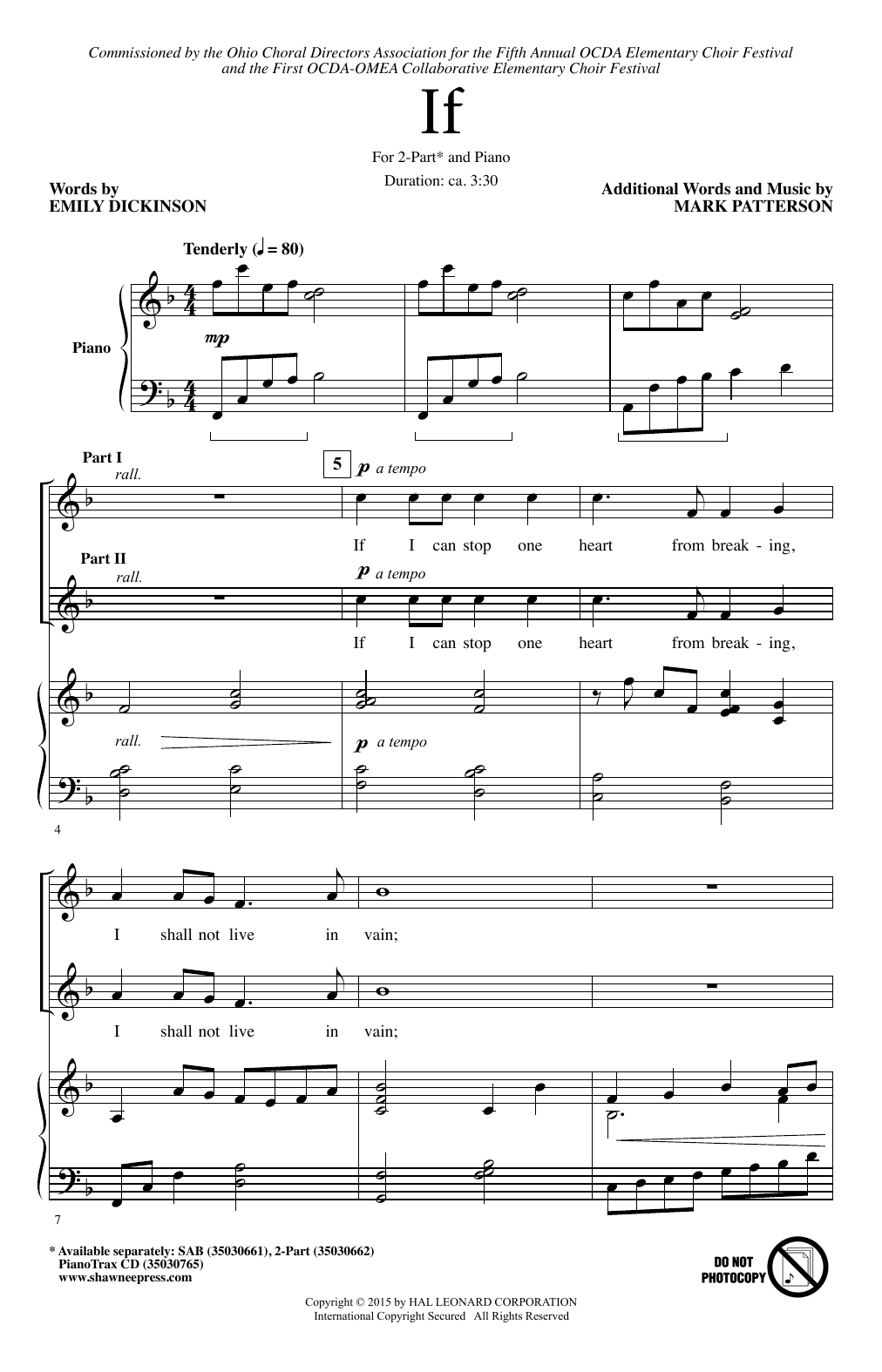 Mark Patterson If sheet music notes and chords. Download Printable PDF.