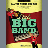 Download Mark Taylor 'All The Things You Are - Bass Clef Solo Sheet' Printable PDF 2-page score for Jazz / arranged Jazz Ensemble SKU: 303313.