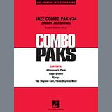 Download Mark Taylor 'Jazz Combo Pak #34 (Modern Jazz Quartet) - Piano/Conductor Score' Printable PDF 6-page score for Jazz / arranged Jazz Ensemble SKU: 310054.