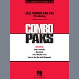 Download Mark Taylor 'Jazz Combo Pak #45 (The Beatles) - Drums' Printable PDF 4-page score for Pop / arranged Jazz Ensemble SKU: 373048.