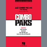 Download Mark Taylor 'Jazz Combo Pak #45 (The Beatles) - Guitar' Printable PDF 4-page score for Pop / arranged Jazz Ensemble SKU: 373046.