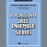Download Mark Taylor 'Lover Come Back to Me (Key: B-Flat) - Tenor Sax Solo (Vocal Alt)' Printable PDF 2-page score for Blues / arranged Jazz Ensemble SKU: 352326.