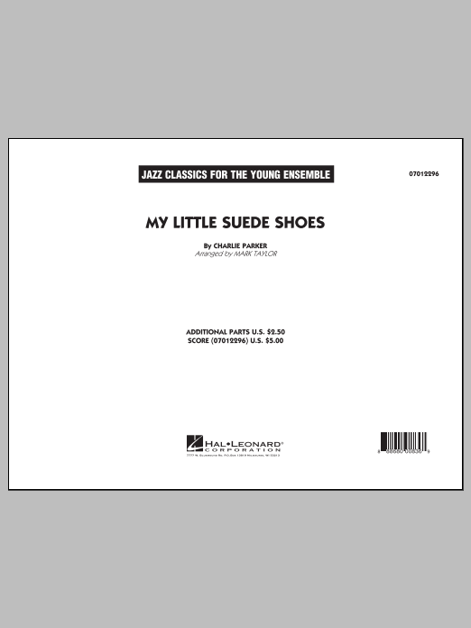Mark Taylor My Little Suede Shoes - Conductor Score (Full Score) sheet music notes and chords. Download Printable PDF.