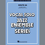 Download Mark Taylor 'Route 66 (Key: F) - Tenor Sax Solo (Vocal Alt)' Printable PDF 2-page score for Blues / arranged Jazz Ensemble SKU: 352130.