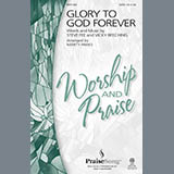 Download Marty Parks 'Glory To God Forever' Printable PDF 7-page score for Contemporary / arranged SATB Choir SKU: 289208.