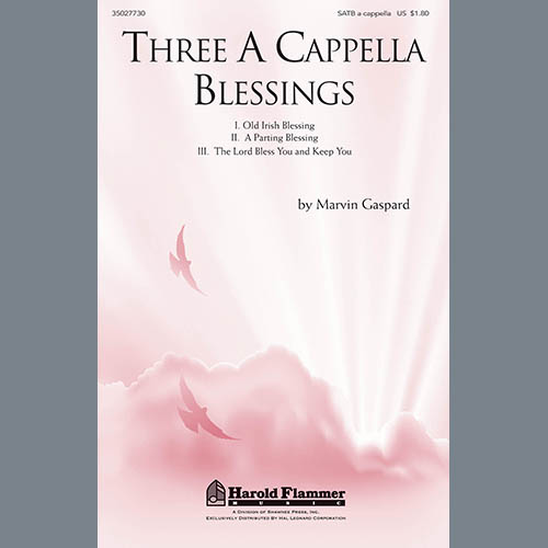 Easily Download Marvin Gaspard Printable PDF piano music notes, guitar tabs for SATB Choir. Transpose or transcribe this score in no time - Learn how to play song progression.