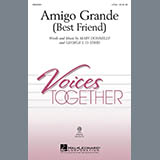 Download or print Mary Donnelly Amigo Grande (Best Friend) Sheet Music Printable PDF 7-page score for Concert / arranged 2-Part Choir SKU: 284485.