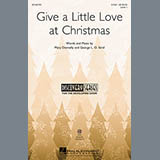 Download or print Mary Donnelly Give A Little Love At Christmas Sheet Music Printable PDF 2-page score for Christmas / arranged 2-Part Choir SKU: 157846.