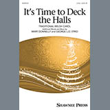Download or print Mary Donnelly It's Time To Deck The Hall! Sheet Music Printable PDF 2-page score for Christmas / arranged 2-Part Choir SKU: 154994.