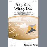 Download Mary Donnelly & George L.O. Strid 'Song For A Windy Day' Printable PDF 14-page score for Concert / arranged 3-Part Mixed Choir SKU: 410513.