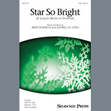 Download or print Mary Donnelly and George L.O. Strid Star So Bright (A Song For Winter Or Christmas) Sheet Music Printable PDF 11-page score for Christmas / arranged 2-Part Choir SKU: 250817.