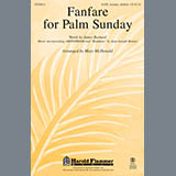 Download or print Mary McDonald Fanfare For Palm Sunday Sheet Music Printable PDF 5-page score for Christian / arranged Handbells SKU: 93625.