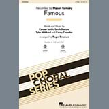 Download Mason Ramsey 'Famous (arr. Roger Emerson)' Printable PDF 9-page score for Country / arranged SAB Choir SKU: 420309.