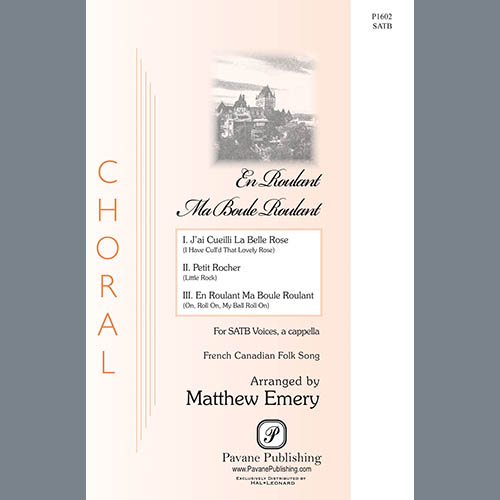Easily Download Matthew Emery Printable PDF piano music notes, guitar tabs for SATB Choir. Transpose or transcribe this score in no time - Learn how to play song progression.