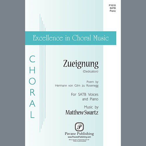 Easily Download Matthew Swartz Printable PDF piano music notes, guitar tabs for SATB Choir. Transpose or transcribe this score in no time - Learn how to play song progression.