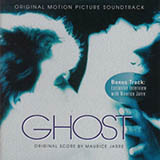 Download or print Maurice Jarre Ghost (Theme) Sheet Music Printable PDF 3-page score for Film/TV / arranged Piano Solo SKU: 17115.