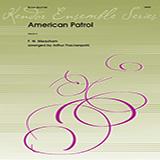 Download Meacham 'American Patrol - 1st Bb Trumpet' Printable PDF 2-page score for American / arranged Brass Ensemble SKU: 343102.
