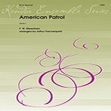Download Meacham 'American Patrol - Horn in F' Printable PDF 2-page score for American / arranged Brass Ensemble SKU: 343104.