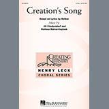 Download or print Jill Friedersdorf and Melissa Malvar-Keylock Creation's Song Sheet Music Printable PDF 10-page score for Concert / arranged 3-Part Treble Choir SKU: 156990.