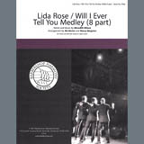 Download Meredith Willson 'Lida Rose/Will I Ever Tell You (from The Music Man) (arr. Nancy Bergman, Mo Rector)' Printable PDF 10-page score for Barbershop / arranged Choir SKU: 407170.